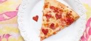valentines day pizza