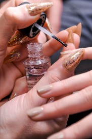 donna karan fall 2013 nails