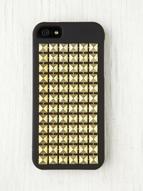Free People Studded iPhone 5case $28.00