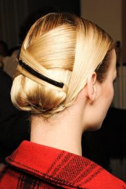 Jason Wu RTW 2013. Hair style prediction for Jessica Chastain