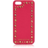 Juicy Couture Leather & Stud iPhone 5 Case