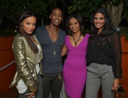 Mechad Brooks, Rachel Roy, Sanaa Lathan, Selita Ebanks