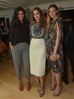 Louise Roe, Rachel Roy, Jennifer Missoni