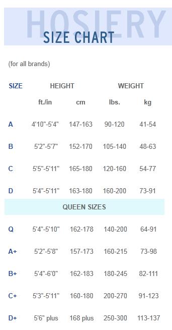 hosiery-size-chart