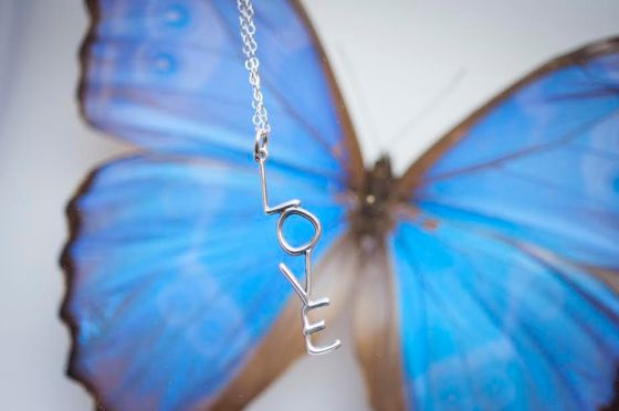 love on butterfly