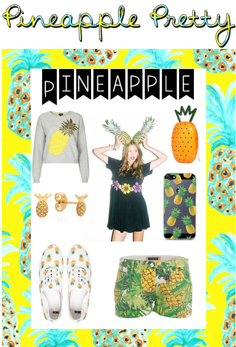 pineapple pretty with text